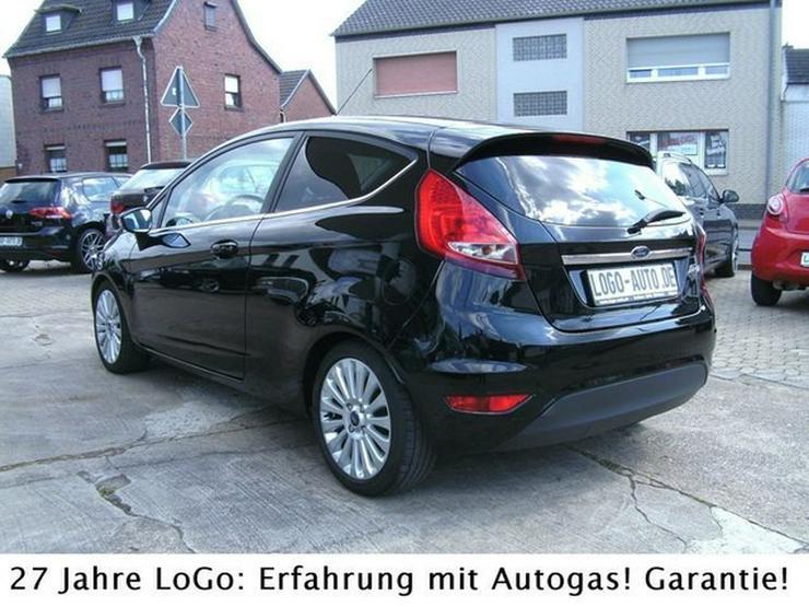 FORD Fiesta Titanium LPG Autogas=tanken für 59 Cent !