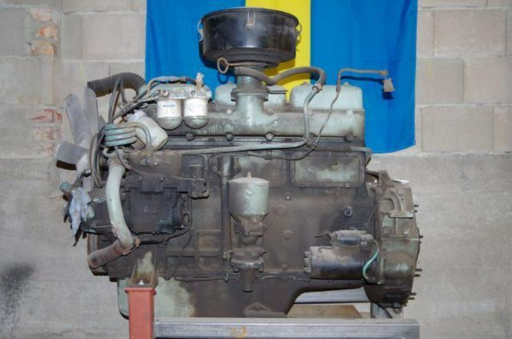 Scania Motor von L 80, 150 PS