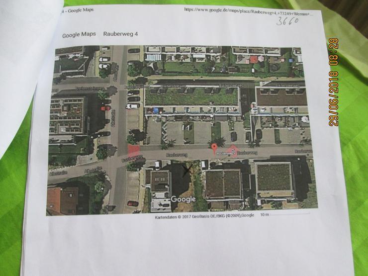 Bild 3: Bauplatz in Wernau für eine besondere DHH