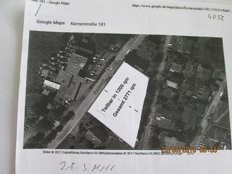 Bild 2: Bauplatz in Bad Wildbad mit 16 Wohnungen gepl.