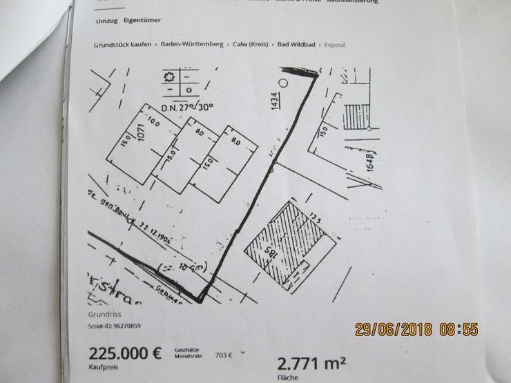 Bild 4: Bauplatz in Bad Wildbad mit 16 Wohnungen gepl.