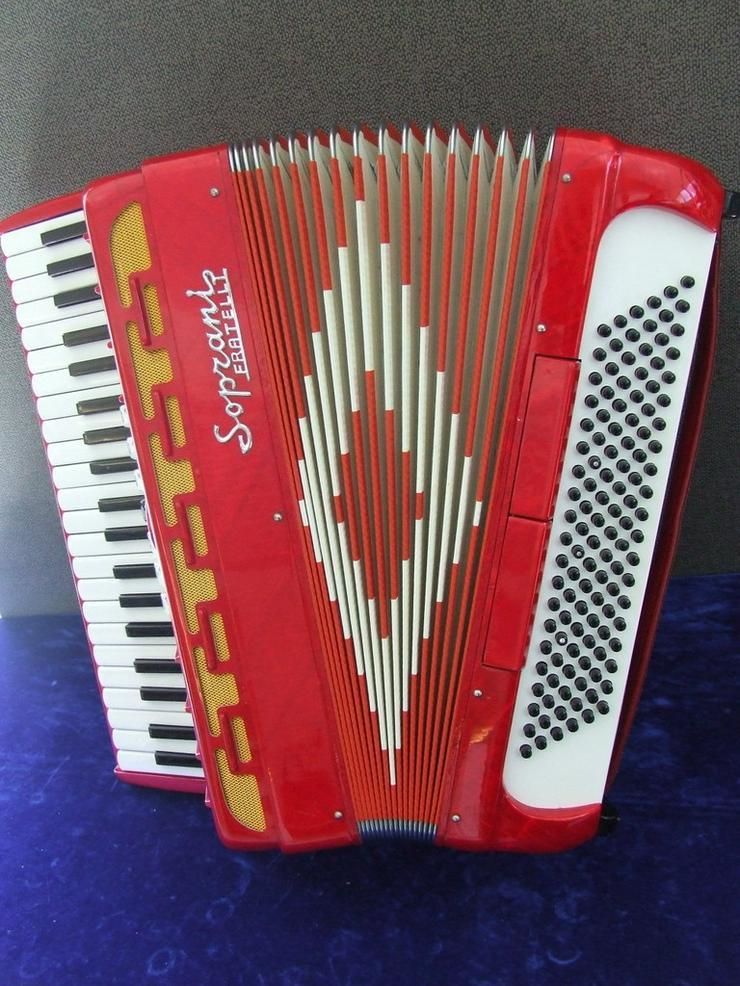 Akkordeon Soprani Fratelli 120 Bass gebraucht