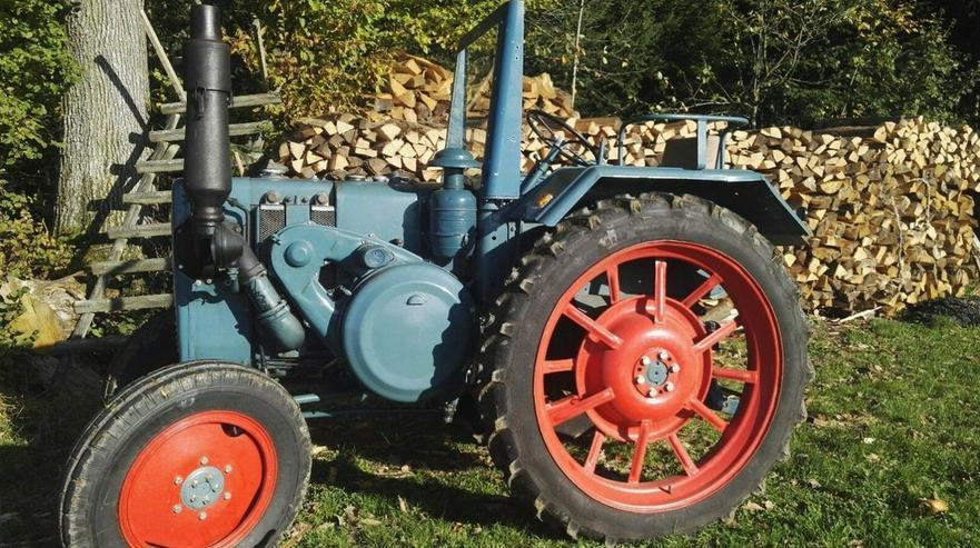 LANZ Bulldog 2806 1 Zylinder Diesel Tüv