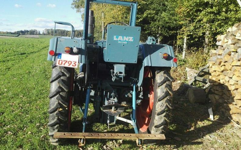 Bild 3: LANZ Bulldog 2806 1 Zylinder Diesel Tüv