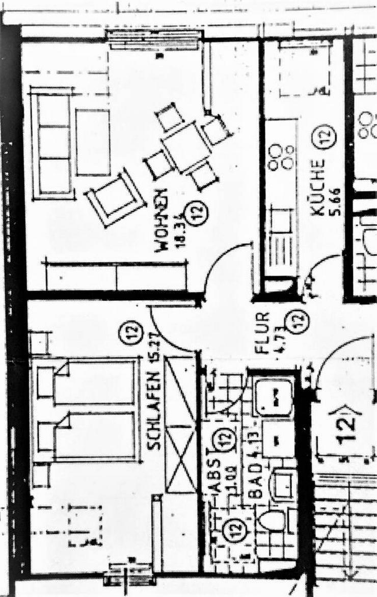 Bild 2: Dachgeschosswohnung in Mockau mit guter Raumaufteilung und viel Platz....