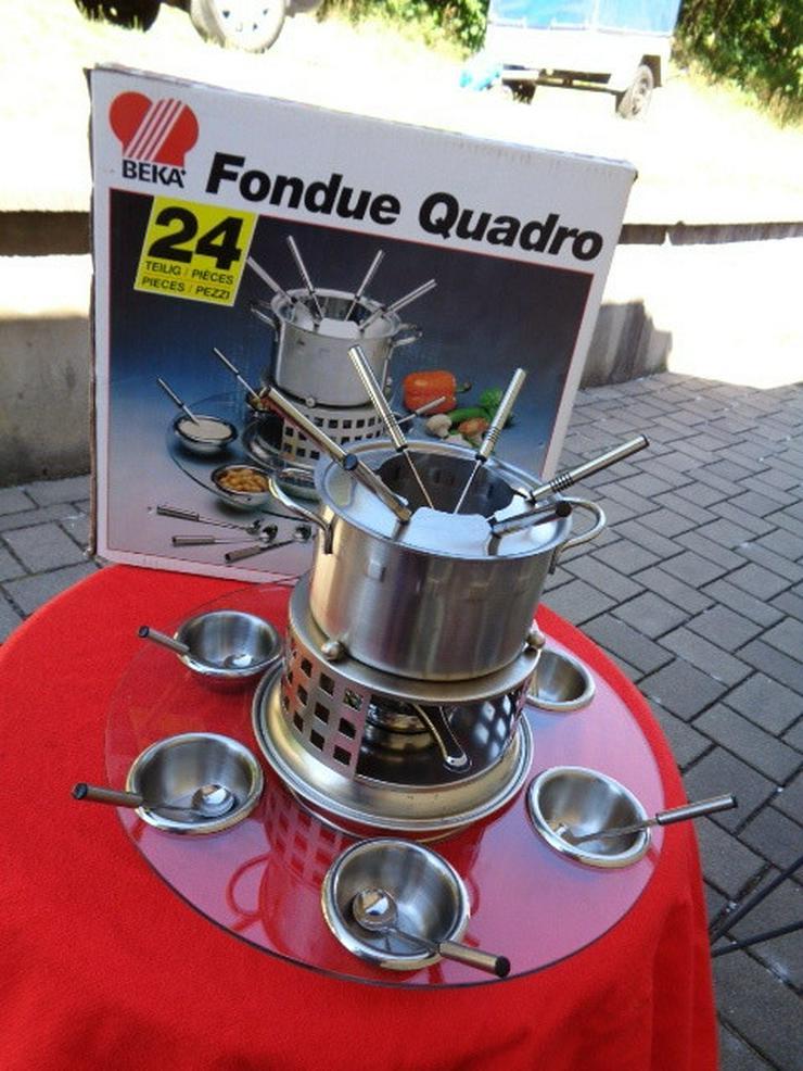 Fondue Set Quadro vom Küchenprofi BEKA OVP