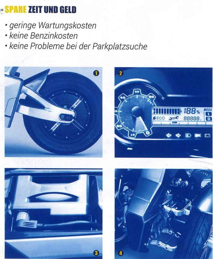 Bild 3: Elektro Scooter Fahrzeug