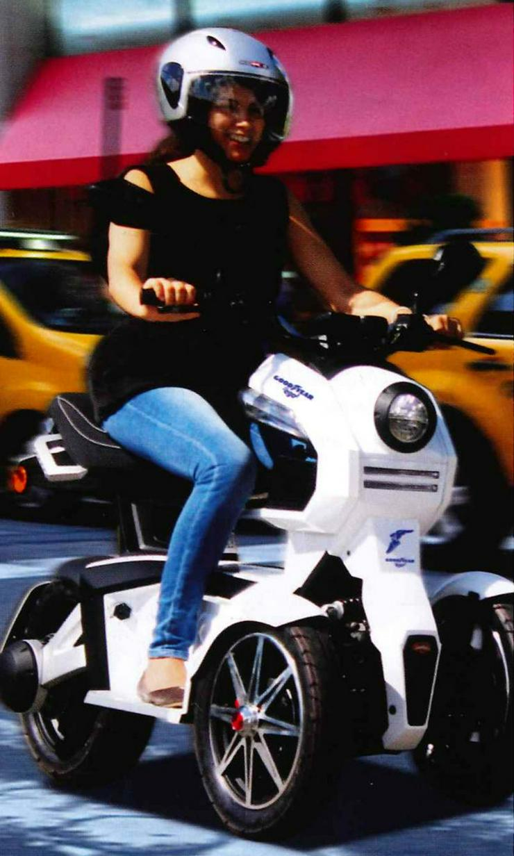 Elektro Scooter Fahrzeug - Moped & Motorroller - Bild 1