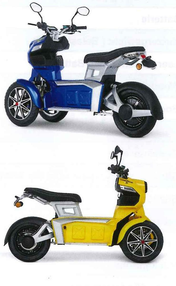Bild 5: Elektro Scooter Fahrzeug