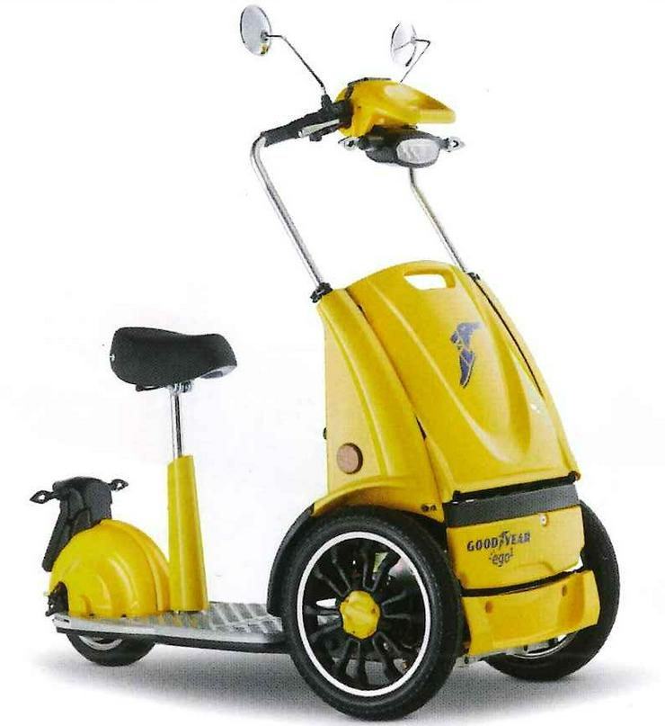 Bild 6: Elektro Scooter Fahrzeug