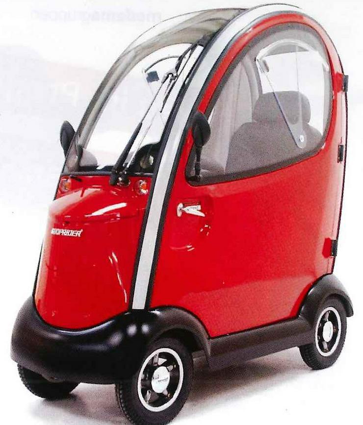Bild 2: Elektro Scooter Fahrzeug Sonderfahrzeug Mobil