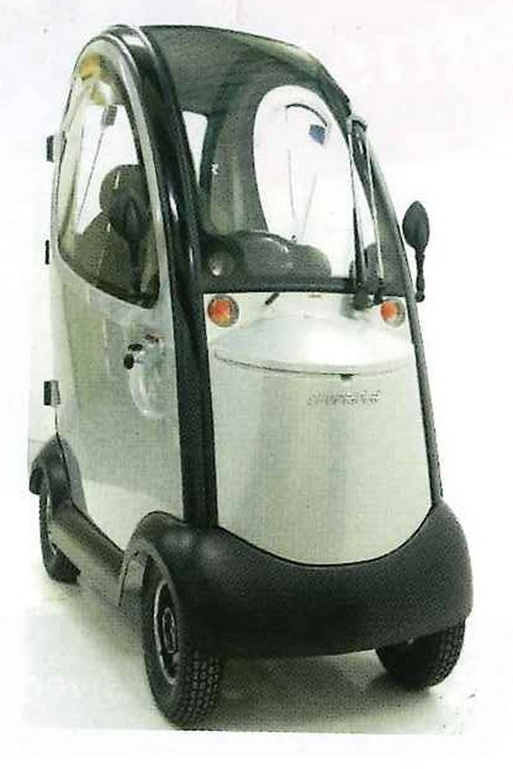 Bild 3: Elektro Scooter Fahrzeug Sonderfahrzeug Mobil