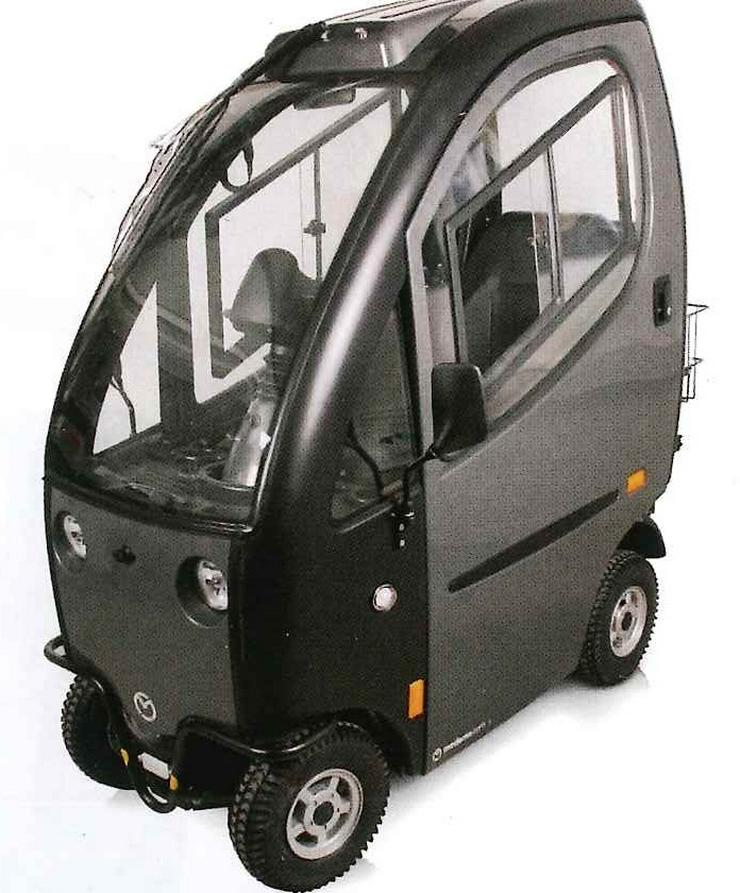 Bild 5: Elektro Scooter Fahrzeug Sonderfahrzeug Mobil