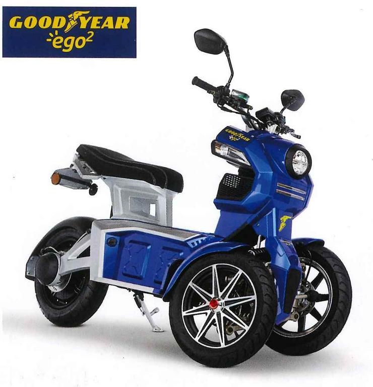 Elektro Scooter Fahrzeug Sonderfahrzeug Mobil - Moped & Motorroller - Bild 1