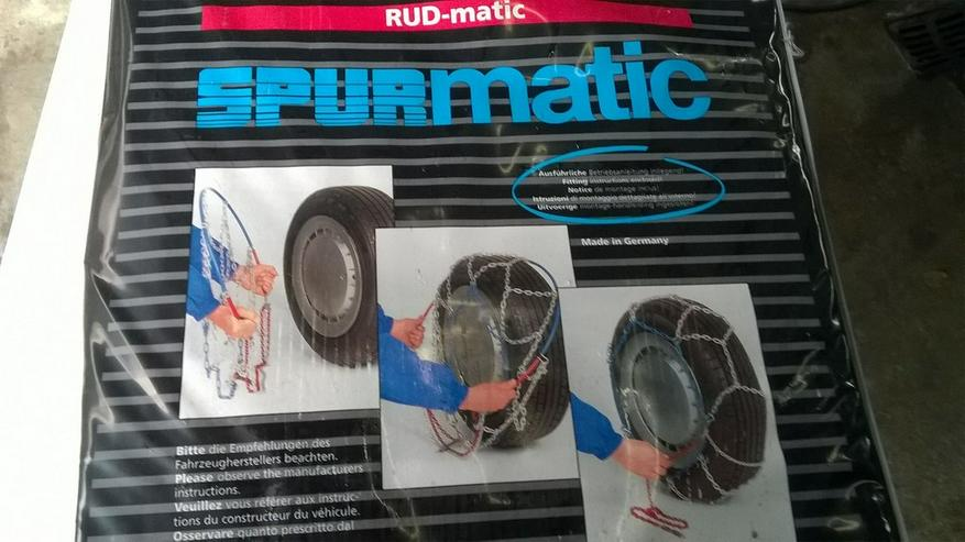 Bild 3: Schneeketten RUDmatic und RUD Quickstart