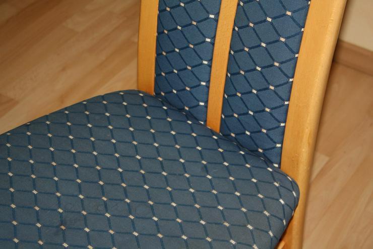 Bild 3: Esstisch buche mit 4 Einlagepletten + 6 Stühlen