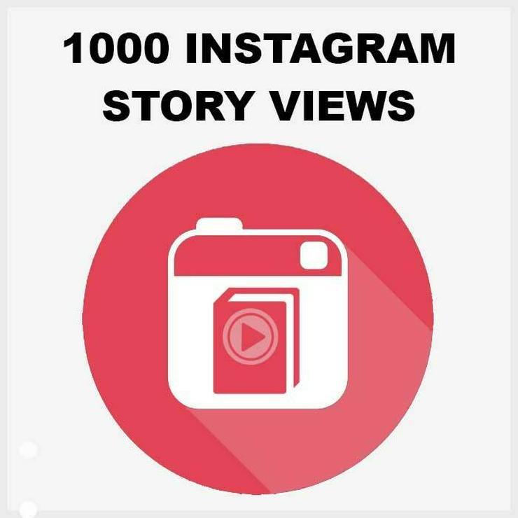 1000 ECHTE AKTIVE INSTAGRAM STORY VIEWS