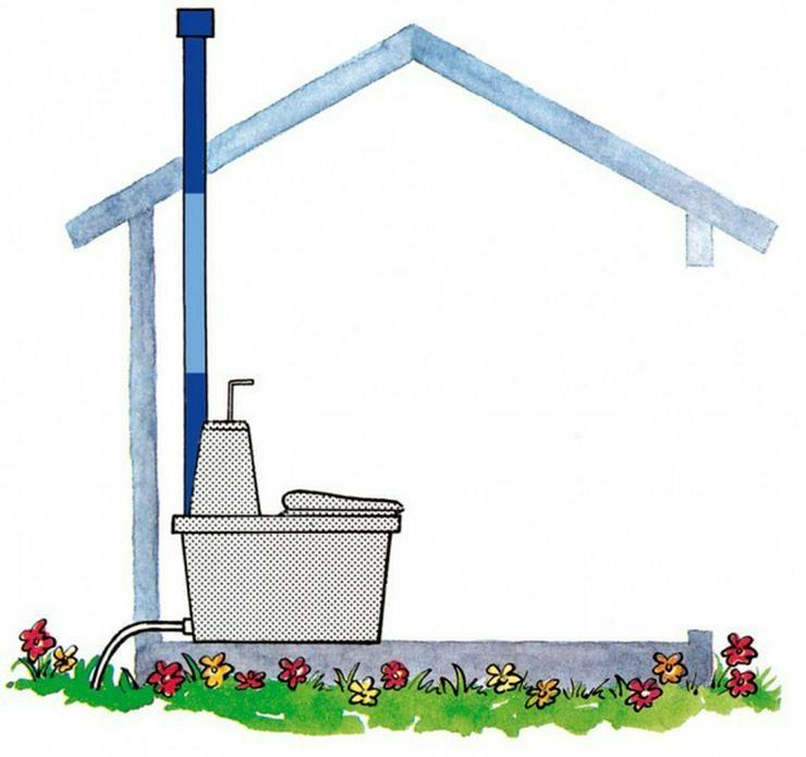 Bild 6: Garten Komposttoilette, Toilettes, WC,