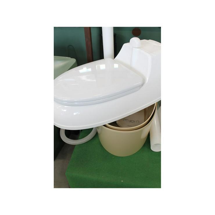 Bild 3: Garten Komposttoilette, Toilettes, WC,