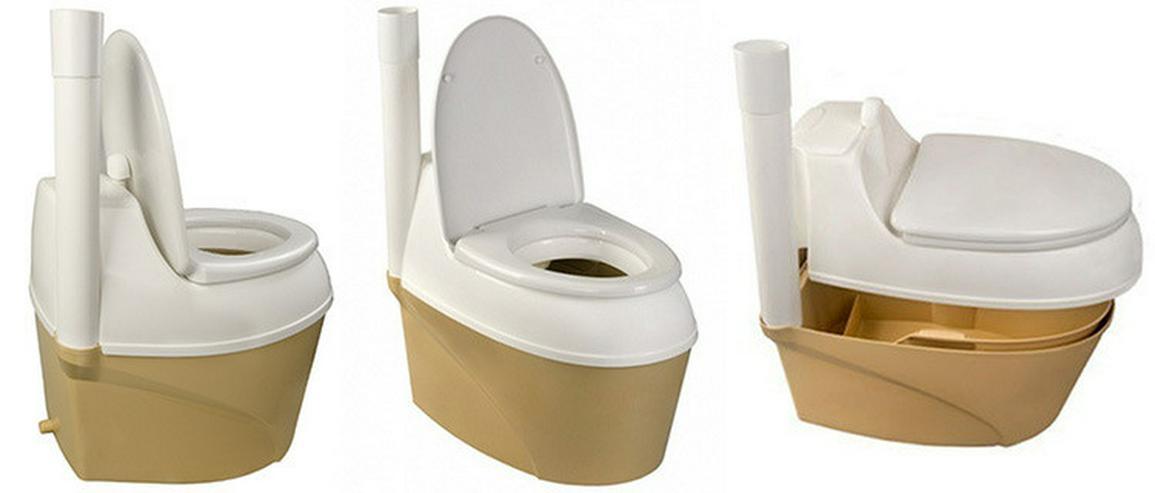 Bild 5: Garten Komposttoilette, Toilettes, WC,