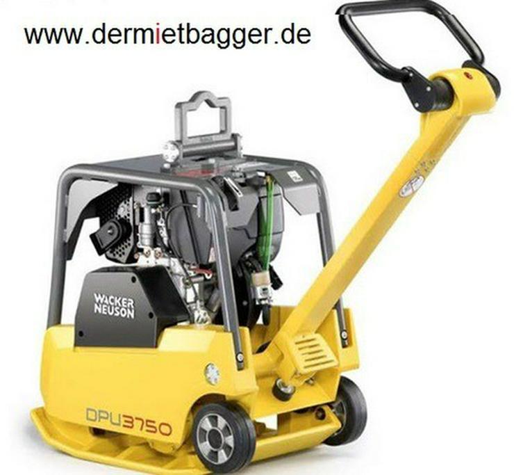 Bild 4: Baumaschinenverleih, Minibagger Verleih Miete