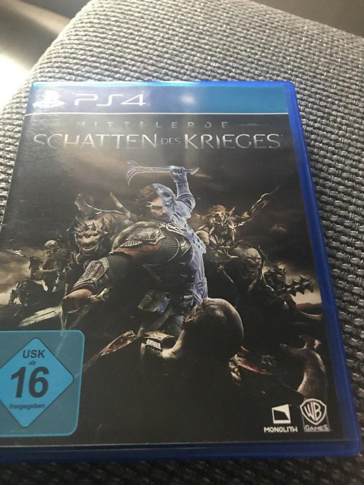 PS 4 Schatten des Krieges
