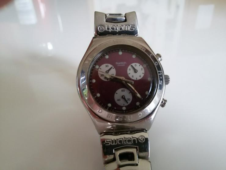 Bild 2: Verkaufe Swatch Irony Chronograph