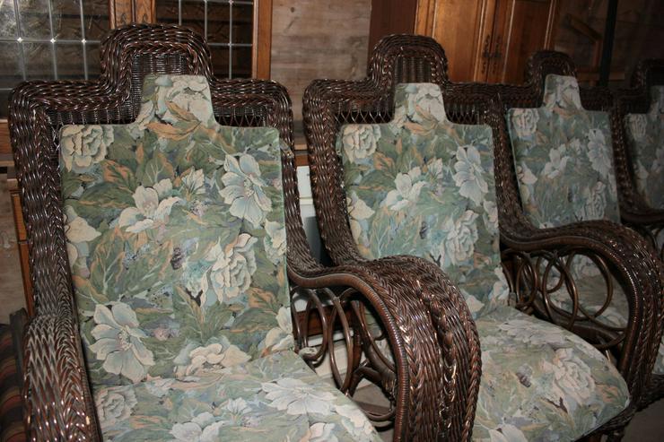 Antike, Vintage Ratansessel - Stühle, Bänke & Sitzmöbel - Bild 3