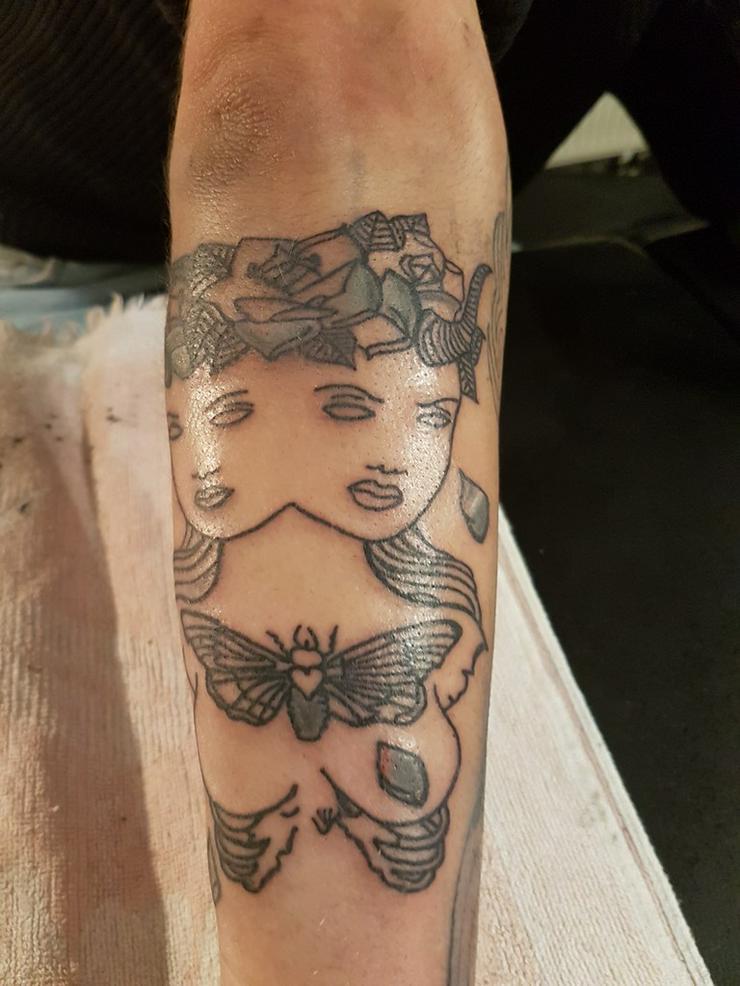 Bild 4: Tatto Modele Gesucht