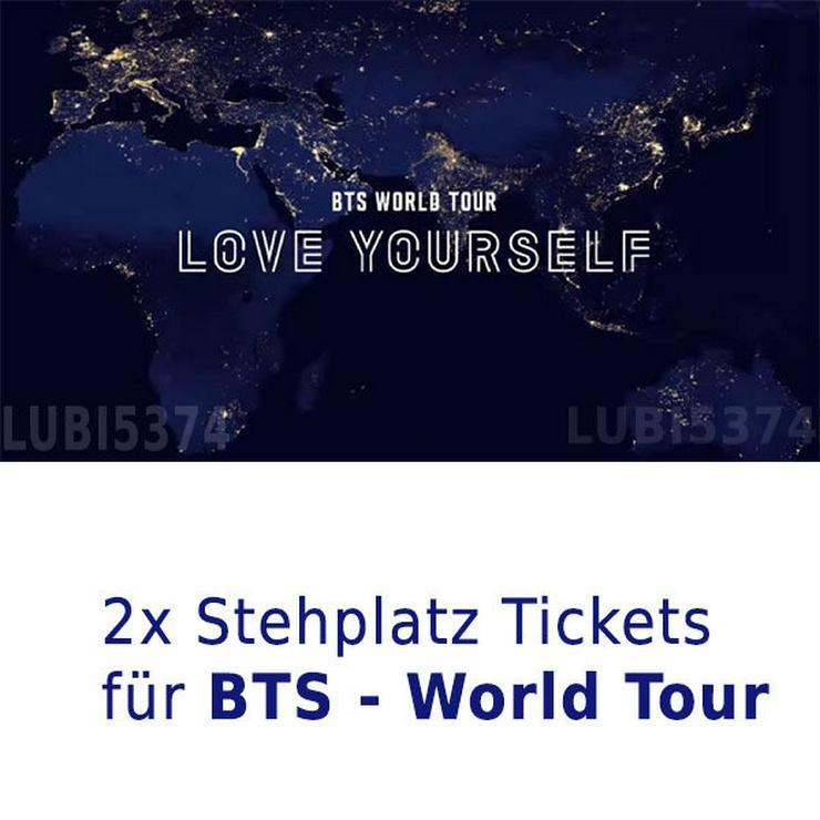 BTS - Stehplatz - Tickets - Berlin - Konzerte - Bild 1