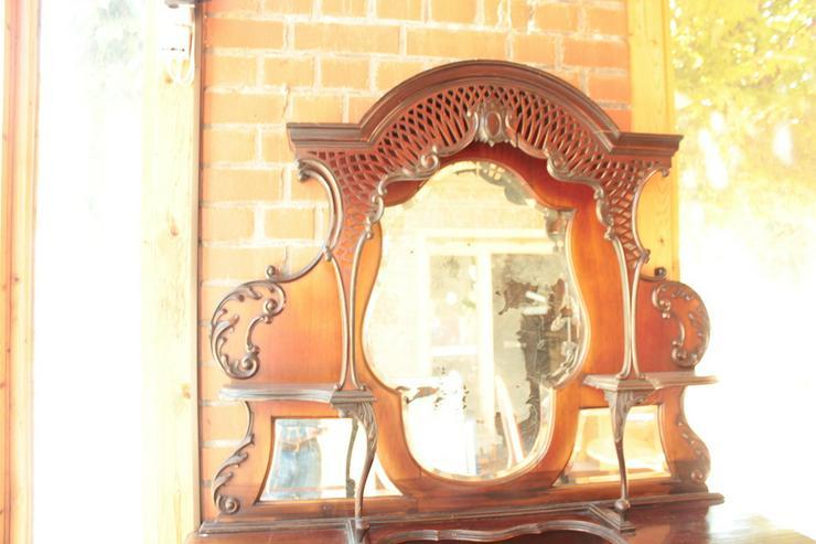 Bild 4: Antikes Jugendstill Kabinet mit Spiegel