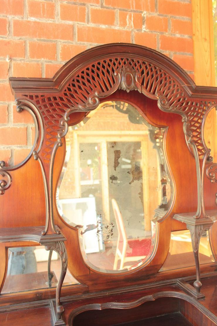 Bild 5: Antikes Jugendstill Kabinet mit Spiegel