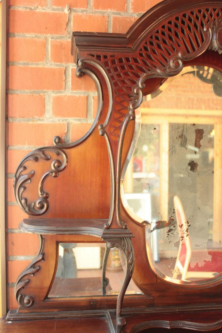 Bild 6: Antikes Jugendstill Kabinet mit Spiegel