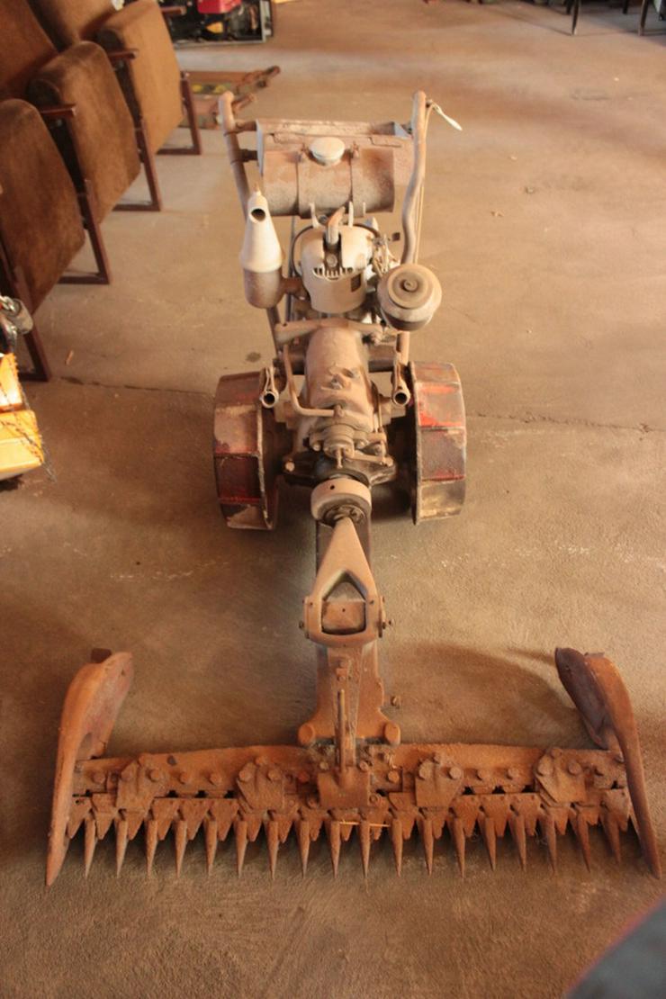 Motormäher - sehr alt! Antik!