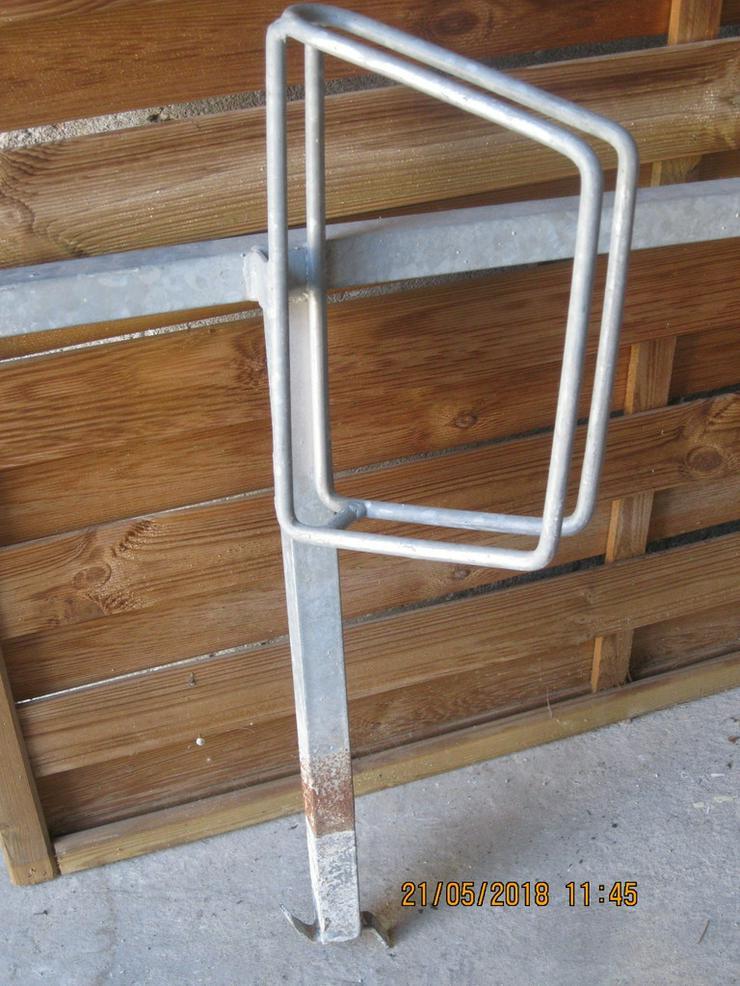 Bild 2: Fahrradständer einseitig für 4 Fahrräder