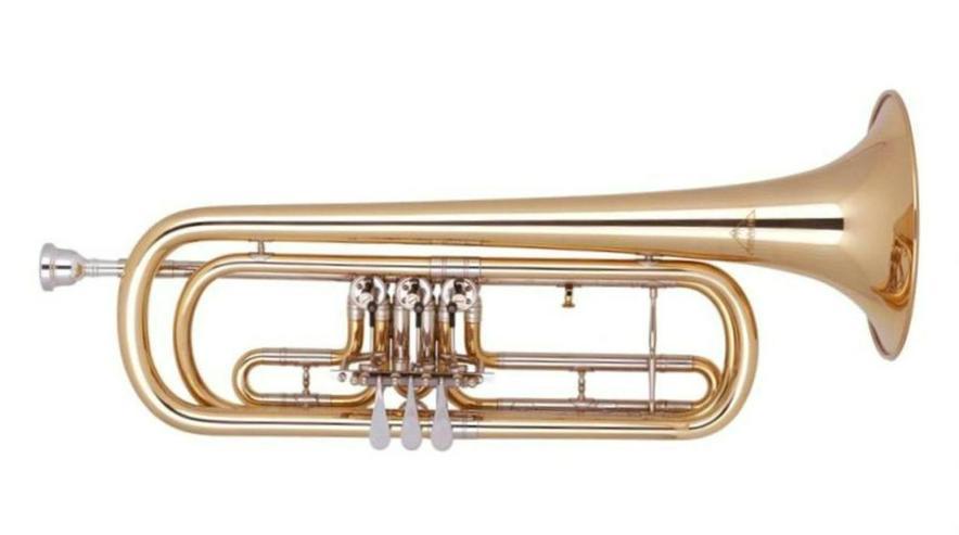 Miraphone B - Basstrompete Modell 3711000 NEU - Blasinstrumente - Bild 1