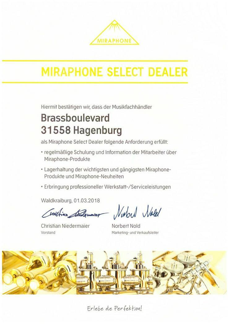 Bild 4: Miraphone B - Basstrompete Modell 3711000 NEU