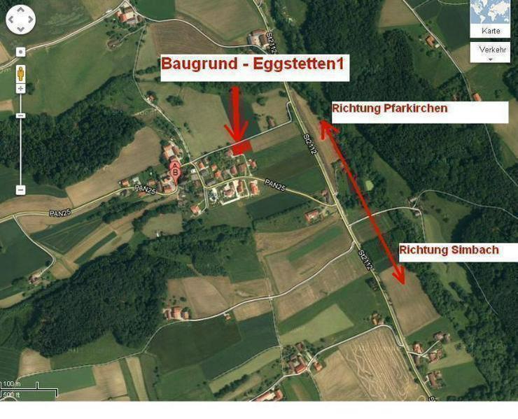Bild 4: Unverbaubares Baugrundstück in Ortsrandlage nur 5 Min. vom Stadtzentrum!