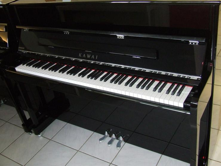 Kawai Klavier K 2 schwarz poliert / Silber - Bild 1