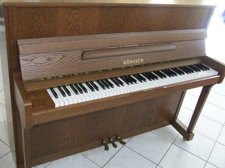 Rönisch Klavier Modell 118K Eiche gebraucht