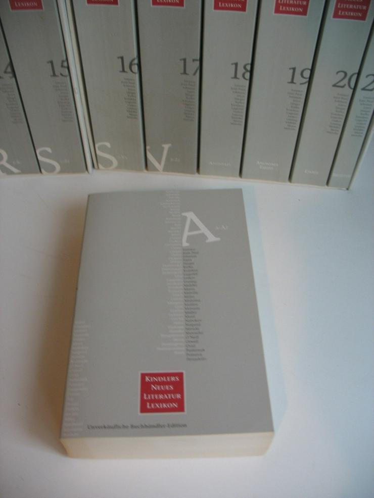 Bild 2: Kindlers Neues Literaturlexikon (21 Bände)