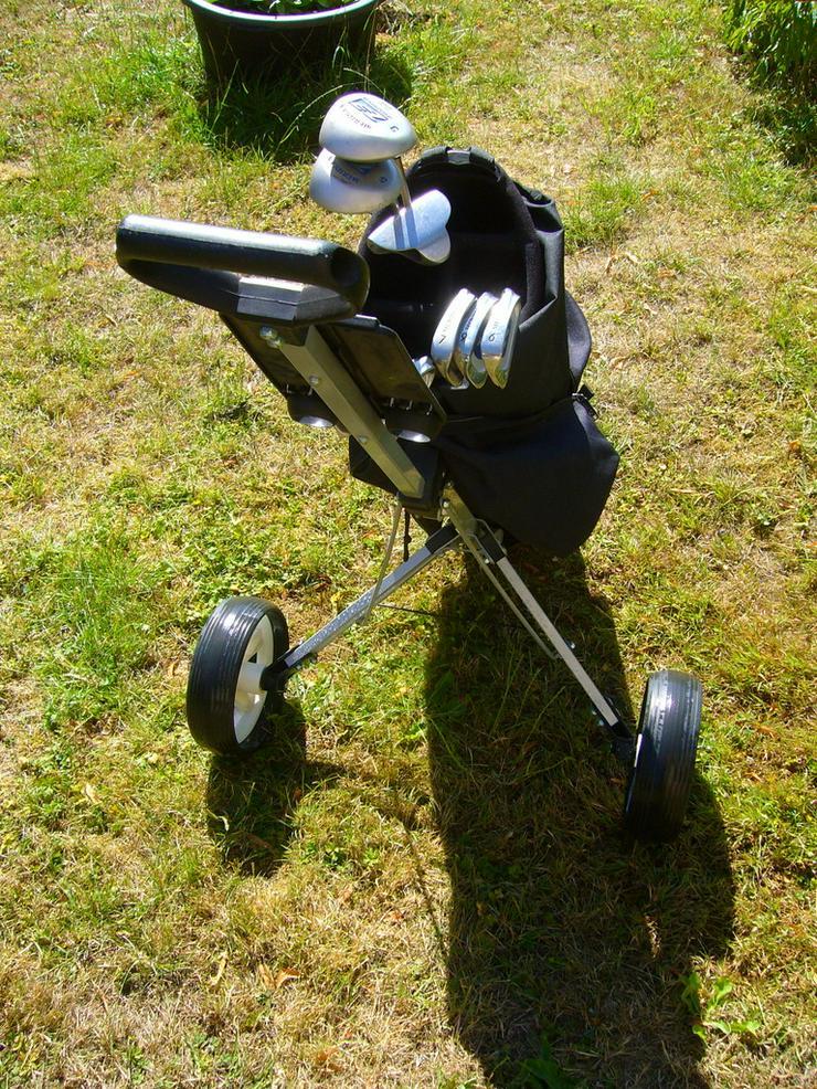 2 komplette Golfausrüstung für Damen und Herren - Bild 1