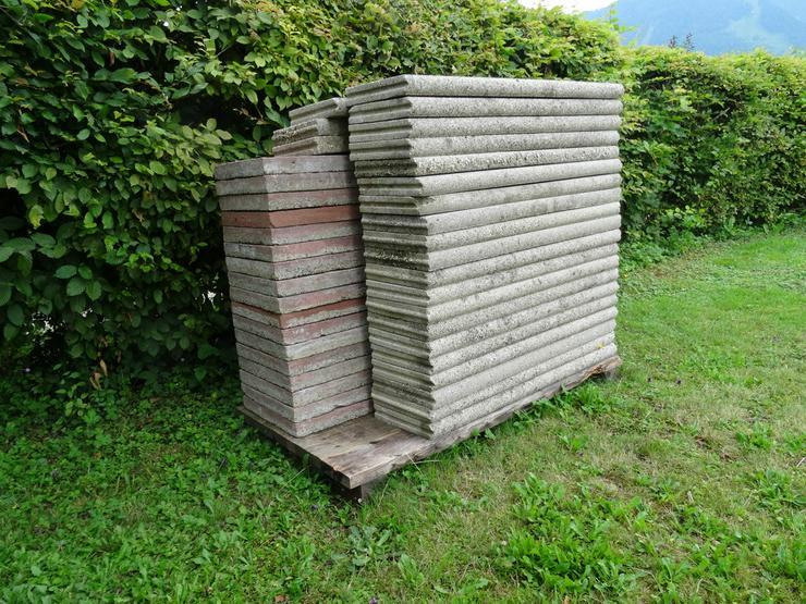 Randsteine und Bodenplatten für den Gartenbereh