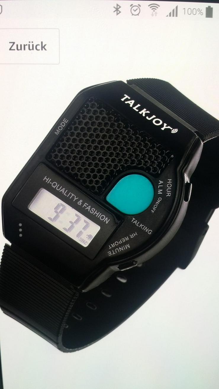 Bild 3: Neue SPRECHENDE Herren/Damen-Armbanduhr