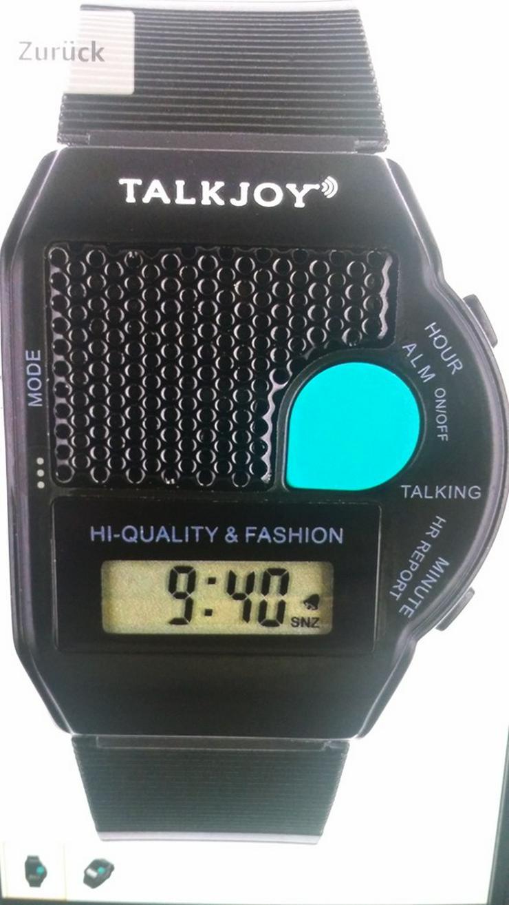 Bild 4: Neue SPRECHENDE Herren/Damen-Armbanduhr