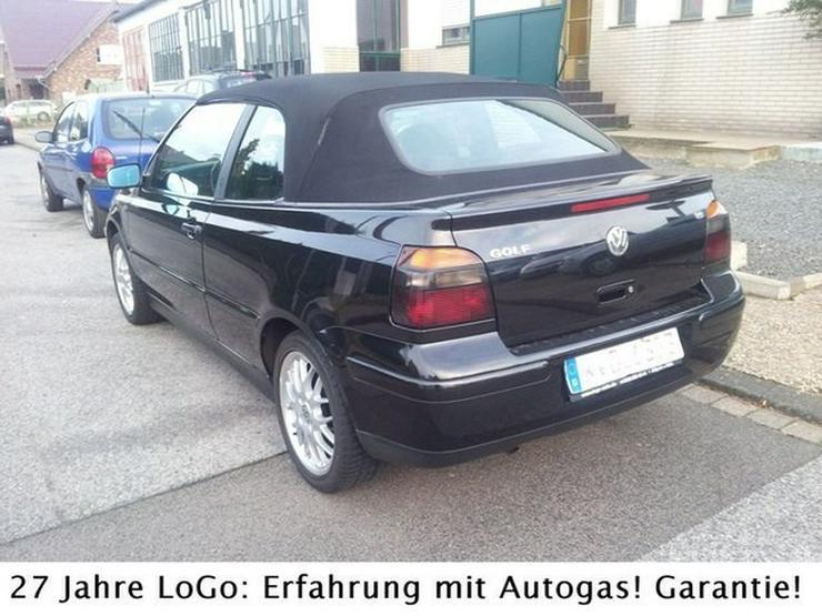 Bild 4: VW Golf IV Highline 1,6i LPG Autogas=59 Cent tanken