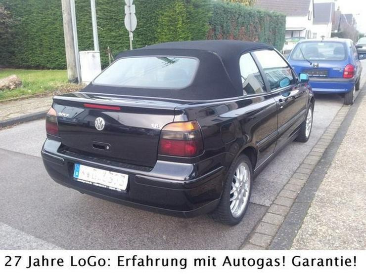 Bild 3: VW Golf IV Highline 1,6i LPG Autogas=59 Cent tanken