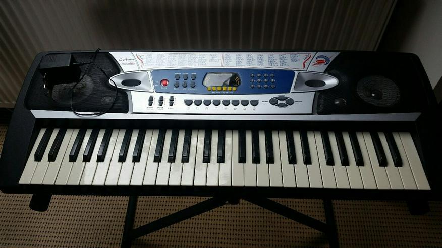 Keyboard C.Aemon MK 2063 mit Ständer - Keyboards & E-Pianos - Bild 1