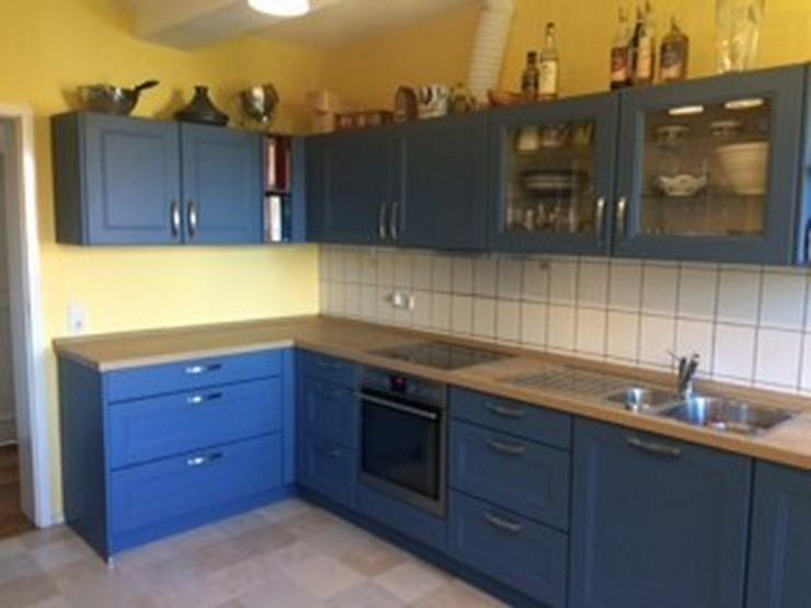 Blaue Küche