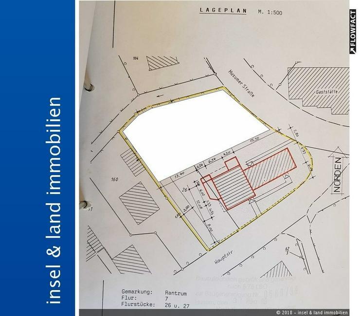 Zentral in Rantrum unerschlossenens Baugrundstück - Grundstück kaufen - Bild 1
